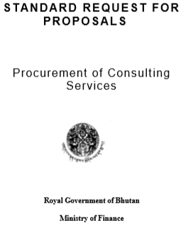 Procurement of Consulting Service